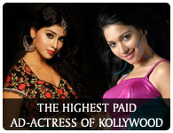 The High Paid Ad-actress of kollywood