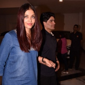 Aishwarya Rai And Abhishek Bachchan At Dinner Party With Close Friends