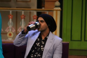 Bareilly Ki Barfi Team On Set Of Kapil Sharma Show