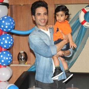 Birthday Celebration Of Tusshar Kapoor Son's Lakshya