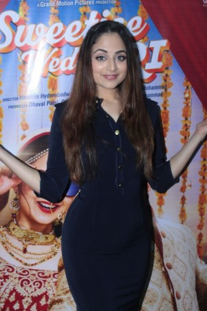Himansh Kohli And Zoya Afroz At The Promotional Interview For Film Sweetiee Weds NRI