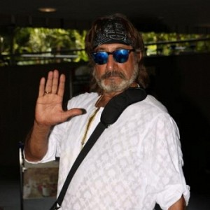 Shakti Kapoor Spotted At International Airport