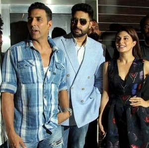 Team Housefull 3 at the Press Conference in Mumbai
