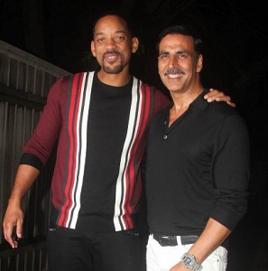 Will Smith at Rustoms movie success party