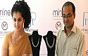 Taapsee Launches Platinum Jewellery