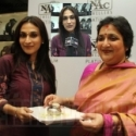 Latha Rajinikanth and Aishwarya Dhanush @ NAC Jewelry
