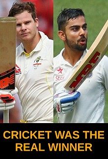India vs Australia - Cricket was the real winner
