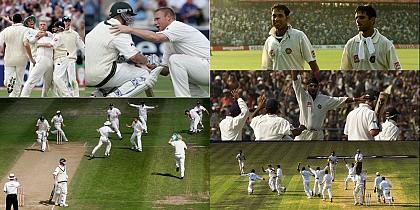Five Greatest Matches in Test Cricket History