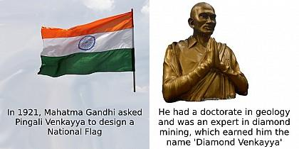 Must-know facts about Pingali Venkayya who designed our national flag