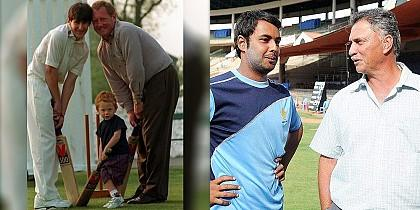 Popular Father-Son cricketers
