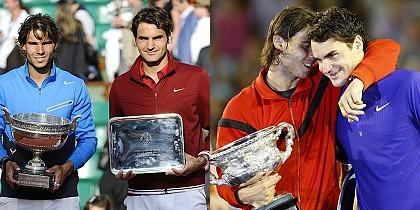 Roger Federer vs Rafael Nadal head-to-head in 8 Grand Slam finals