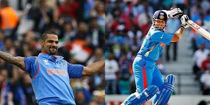 Top five fastest 1000 runs in ICC ODI tournaments