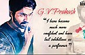 An exclusive interview of GV Prakash by Kaushik LM
