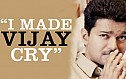I made Vijay cry - Sathish