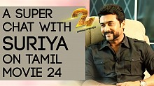 A super chat with Suriya on Tamil movie 24 - Karthi can act, I can't!