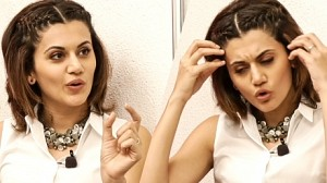 How much cleavage is a good cleavage ? why should a man tell a woman -Taapsee | MY 49