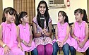 We saw a dinosaur - The quadruplets of Enna Satham Indha Neram speak