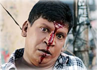 Vadivelu's house attacked: Captain or Ultimate Star ... Vadivelu Crying
