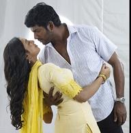Lakshmi Menon's kiss scene in Naan Sigappu Manithan Naan Sigappu Manithan Lakshmi Menon Kiss