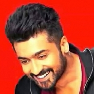 Chennai As He Waits For His Next Release Gajini Loosely Based On A Christopher Nolan Movie Surya Is Also Waiting Hair To Grow Had