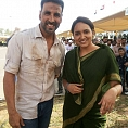 Lena lands in Rajasthan to shoot for Airlift