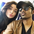 Amy teaches Dhanush