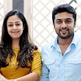 Jyothika 2nd Surya 6th.....