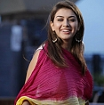 Hansika's special pooja for her dear ones ...