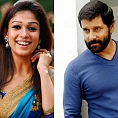 Vikram and Nayanthara for the first time with...