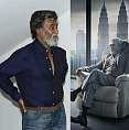 Kabali and the Superstar's looks