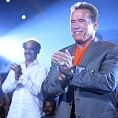 Arnold and Superstar in a single frame for Enthiran 2?