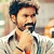 Dhanush fights it out in rain