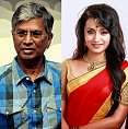 Trisha and Vijay's dad are in?