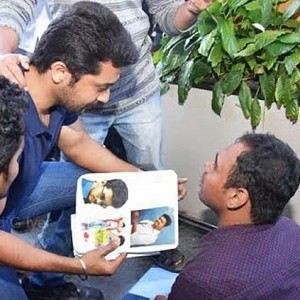Emotional: Vijay fan's special request to Suriya!
