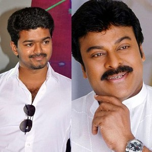 Vijay and Chiranjeevi to come very early