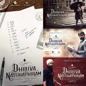 What is special about Gautham Menon and Vikram's Dhurva Natchathiram?