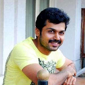 First time for Karthi!