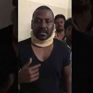 Raghava Lawrence breaks down into tears!