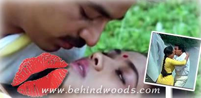 Tamil Movie Lip Lock Kiss Guru Hey Ram Punnagai Mannan New Vallavan
