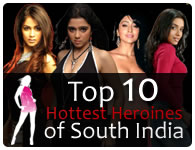 Sexiest heroins of south india