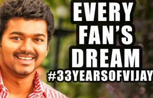 33 Years of Vijay-Every Fan's Dream is here!-Tinsel Kathaigal