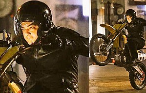 Ajith's kickass bike stunt in Bulgaria | AK57