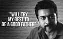 Suriya's heartfelt talk about his father Sivakumar