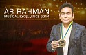 AR RAHMAN | Musical Excellence 2014