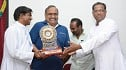 Balaji Sakthivel and Vijay Milton get honored by Loyola College