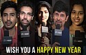Celebrities wishing you a Happy New Year!!