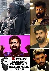 Rajini, Vikram, Nivin Pauly, Simbu, Arvind Swami- Beard styles to follow