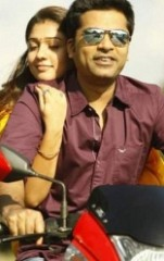 Pillion riding with Simbu!