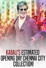 Rajinikanth starrer Kabali's estimated opening day Chennai city collection
