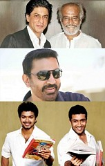 Superstar, Ilayathalapathy, Suriya, Big B and King Khan!, superstar Rajinikanth, Ilayathalapathy Vij